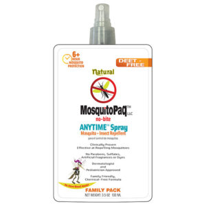 MosquitoPaQ no-bite ANYTIME Spray StandUp Pouch