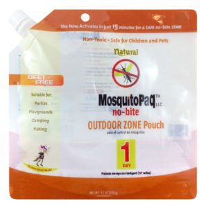 MosquitoPaQ™ no-bite 1 Day OUTDOOR ZONE Product