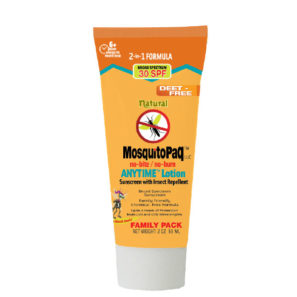 MosquitoPaQ™ no-bite / no-burn ANYTIME™ Lotion in tube