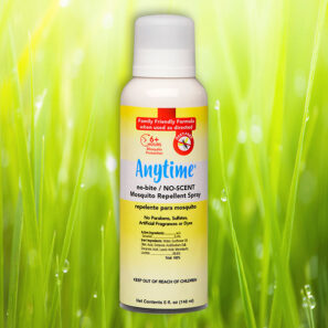 ANYTIME™ no-bite/NO-SCENT Mosquito Repellent Aerosol Spray