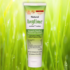 ANYTIME™ no-bite Mosquito Repellent Lotion TubePaQ