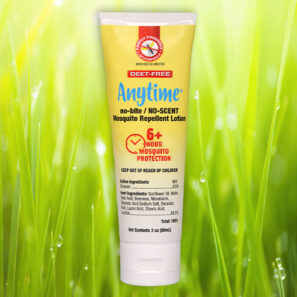 ANYTIME™ no-bite/NO-SCENT Mosquito Repellent Lotion