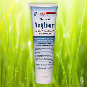ANYTIME™ no-bite/no-burn 2-in-1 Lotion Mosquito Repellent and Sunscreen