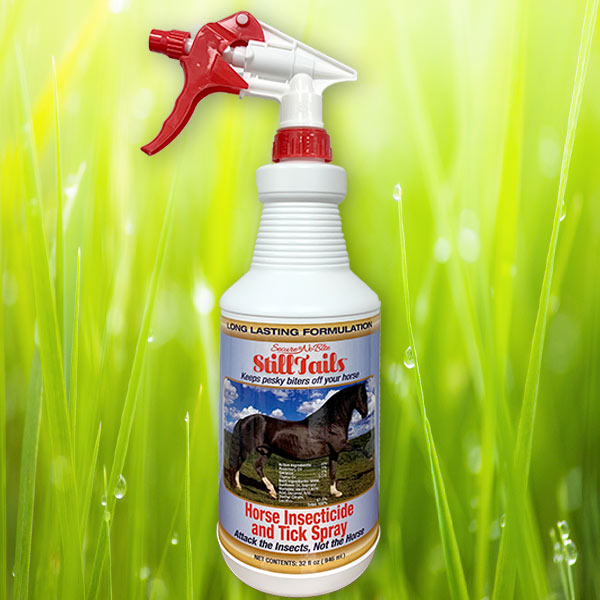 SECURE® no-bite StillTails™ Horse and Livestock Insect Repellent Spray